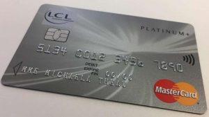 carte bancaire LCL